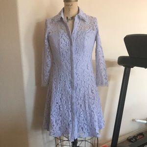 Nanette Lepore Moody Treasures Lavender Dress 4
